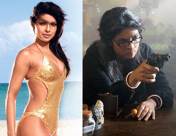 Priyanka Chopra in Dostana and Saat Khoon Maaf