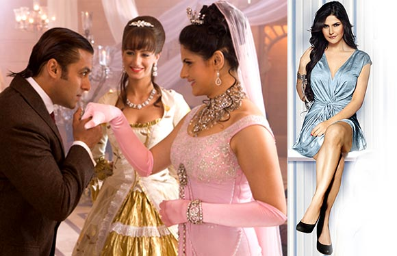 Salman Khan and Zarine Khan in Veer, Zarine in Housefull 2