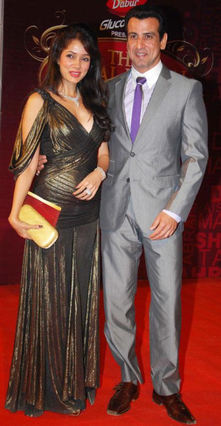 Vidya Malvade and Ronit Roy