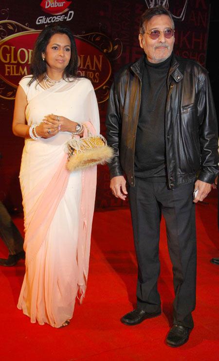 Kavita and Vinod Khanna