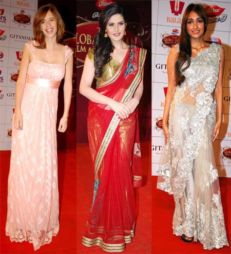 Kalki Koechlin, Zarine Khan and Jiah Khan