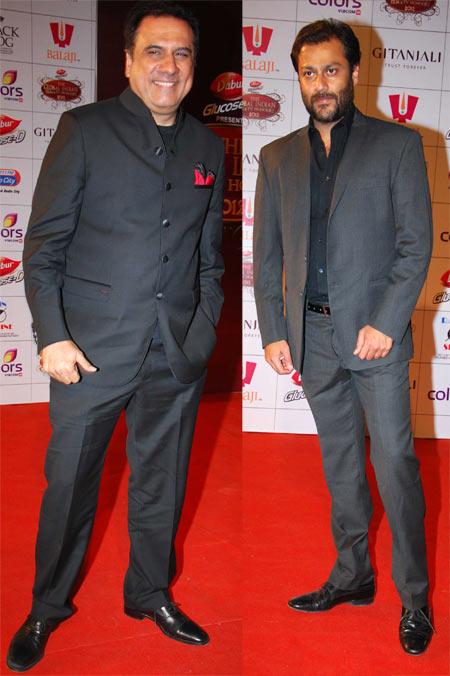 Boman Irani and Abhishek Kapoor