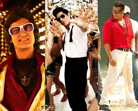Aamir Khan, Shah Rukh Khan, Salman Khan