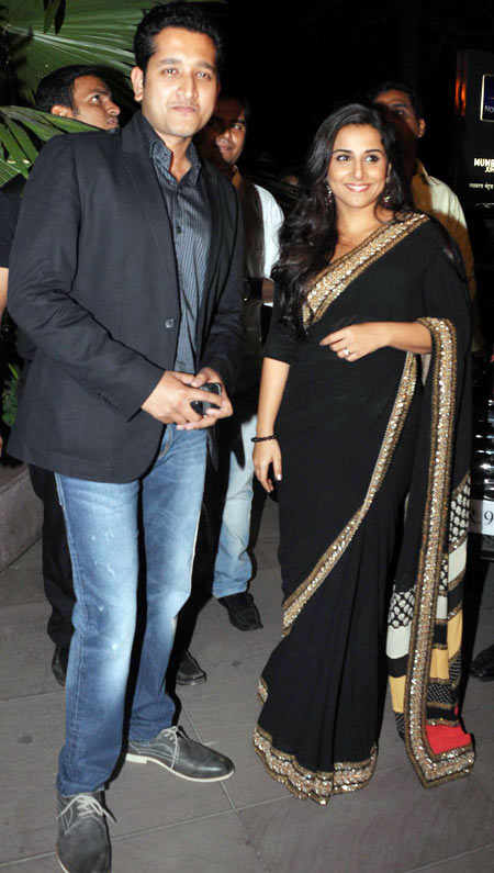Parambrata Chatterjee and Vidya Balan