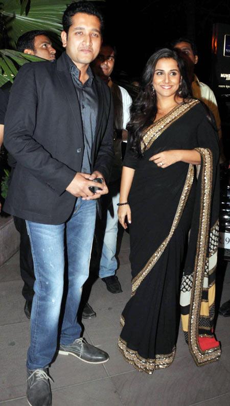 Parambrata Chatterjee and Vidya Balan