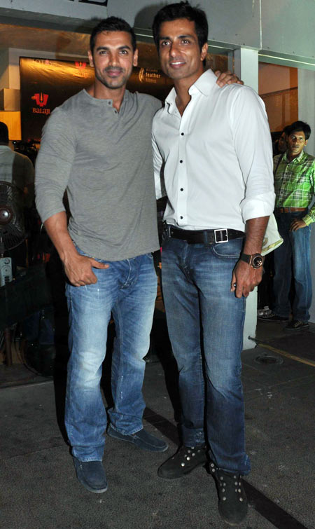 John Abraham and Sonu Sood
