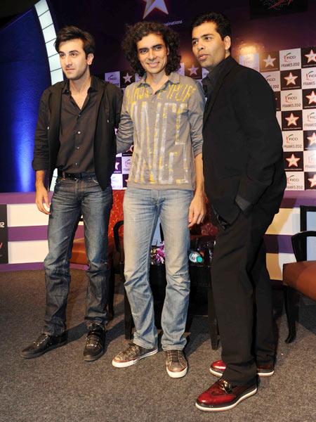 Ranbir Kapoor, Imtiaz Ali and Karan Johar