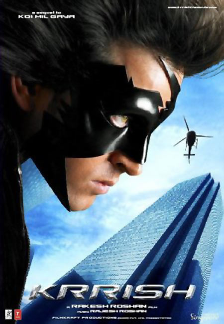Movie poster of Krrish