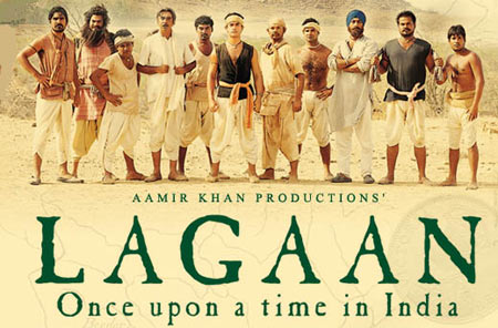 Movie poster of Lagaan
