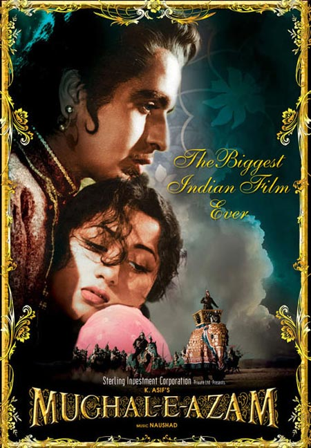 Movie poster of Mughal-E-Azam