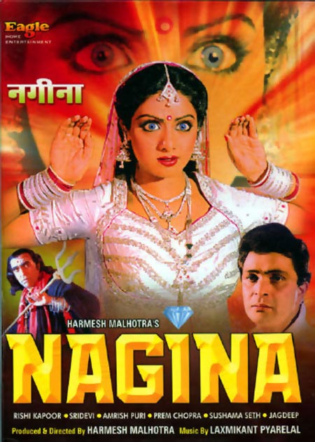 Movie poster of Nagina