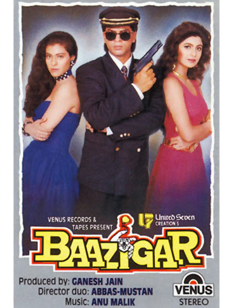 Movie poster of Baazigar
