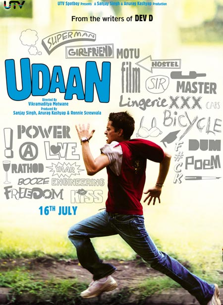 Movie poster of Udaan