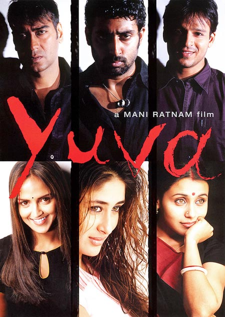 Movie poster of Yuva