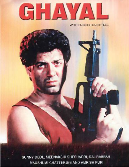Movie poster of Ghayal
