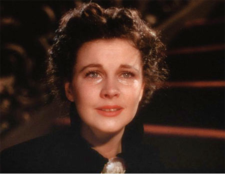 Vivian Leigh in Gone With The Wind