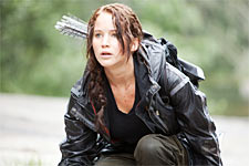 A scene from The Hunger Games