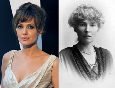 Angelina Jolie and Gertrude Bell