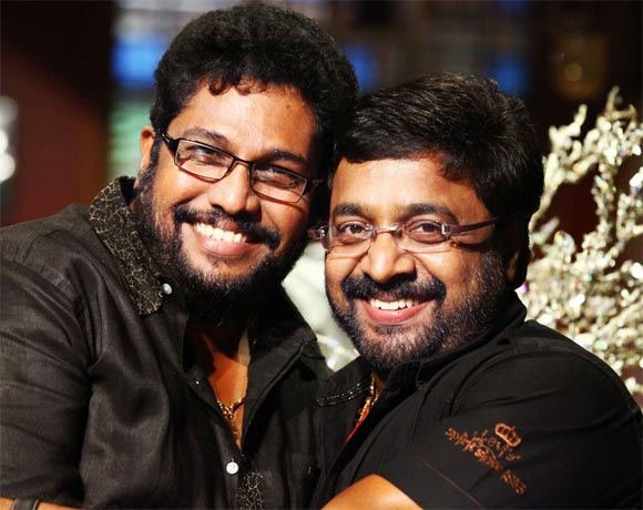 Shaji Kailas and Renji Panicker