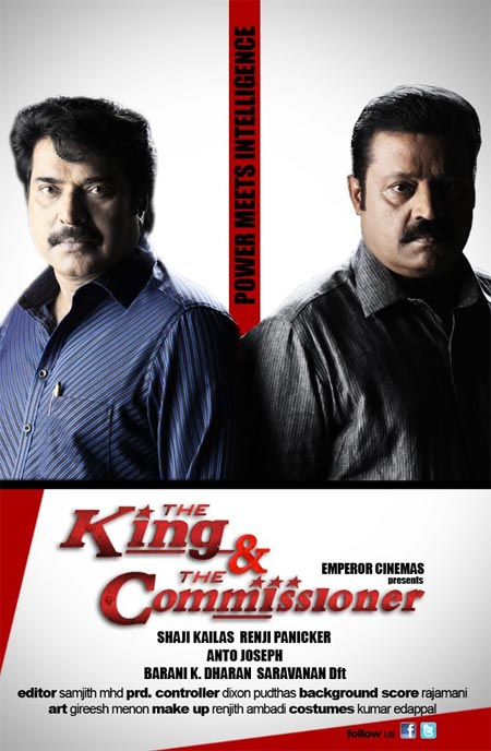 Movie poster of The King And The Commissioner