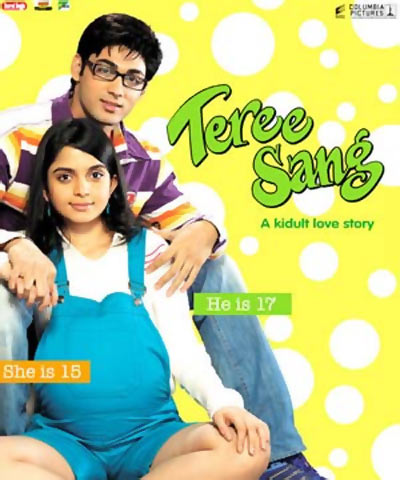 Movie poster of Tere Sang