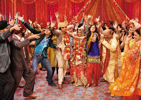 A scene from Band Baaja Baraat