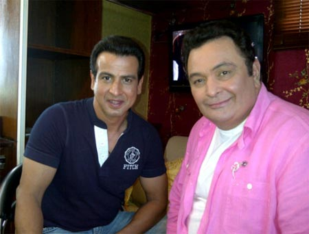 Ronit Roy and Rishi Kapoor
