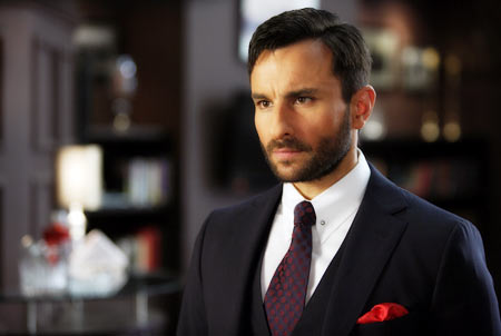 Saif Ali Khan in Agent Vinod