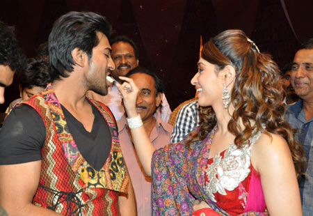 Ram Charan and Tamaanah