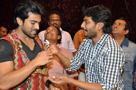 Ram Charan and Sampath Nandi