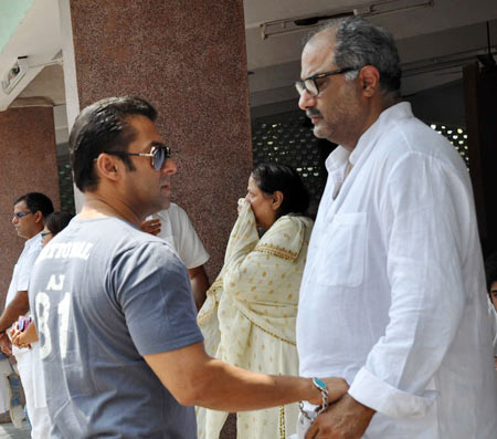 Salman Khan and Boney Kapoor
