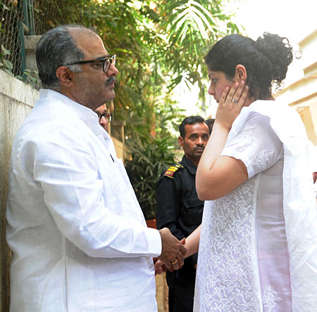 Boney Kapoor and Anshula