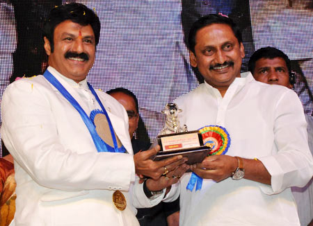 Nandamuri Balakrishna and Kiran Kumar Reddy