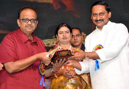 S P Balasubramanyam, D K Aruna and Kiran Kumar Reddy