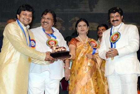 Sai Kumar, Dasari Narayan Rao, D K Aruna and Nandamuri Balakrishna