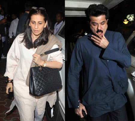 Anil Kapoor and wife Sunita
