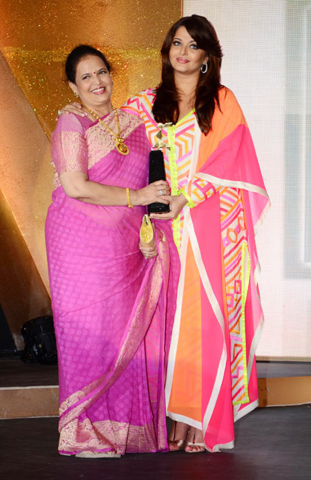 Vrinda Rai and Aishwarya Rai Bachchan