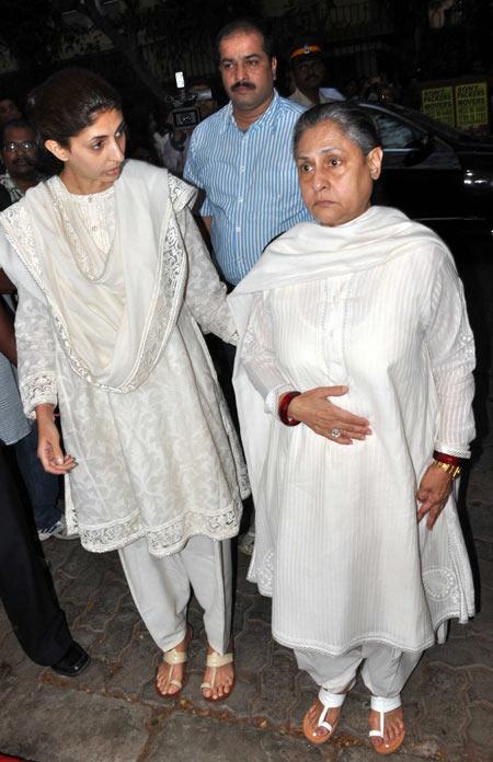 Shweta Bachchan Nanda and Jaya Bachchan
