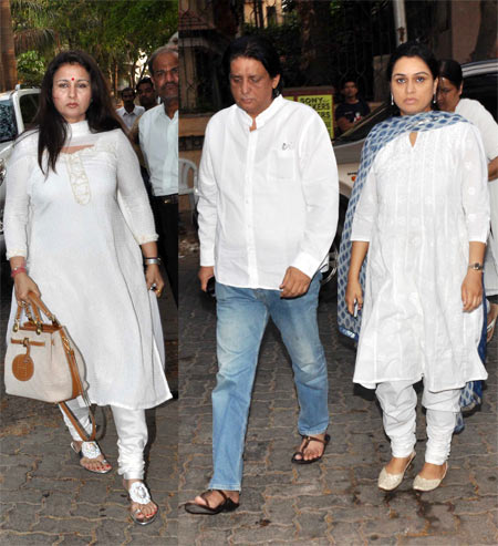 Poonam Dhillon, Tutu Sharma and Padmini Kolhapure