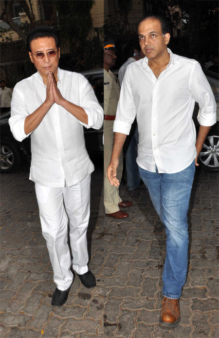 Danny Denzongpa and Ashutosh Gowariker