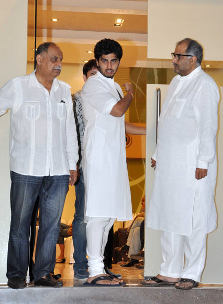 Arjun and Boney Kapoor