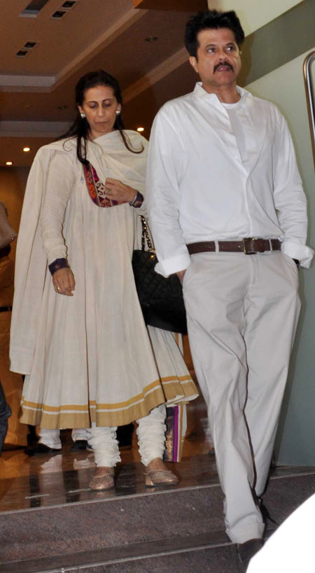 Anil and Sunita Kapoor