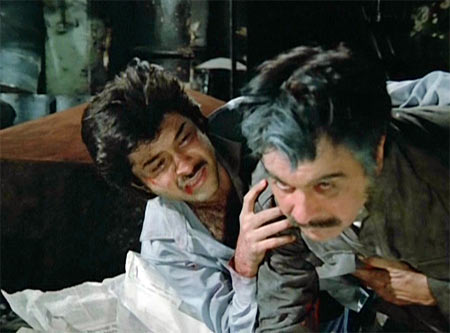 Anil Kapoor and Dilip Kumar in Mashaal