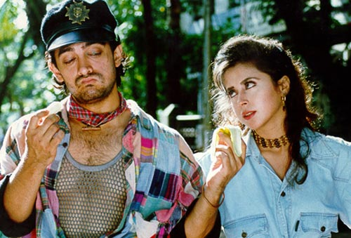 Aamir Khan and Urmila Matondkar in Rangeela