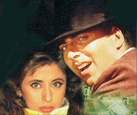 Akshay Kumar and Urmila Matondkar in Aflatoon