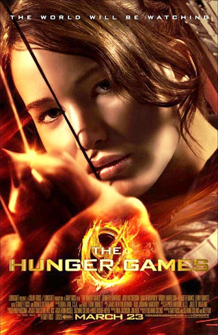 Movie poster of The Hunger Games