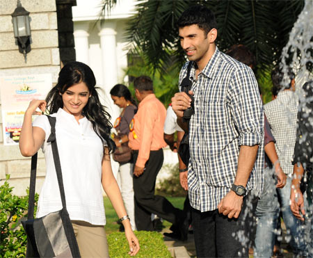 Samantha and Aditya Roy Kapoor