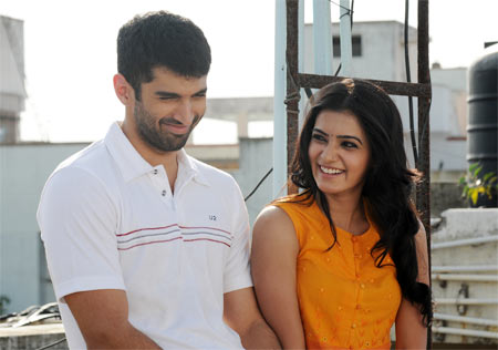 Aditya Roy Kapoor and Samantha