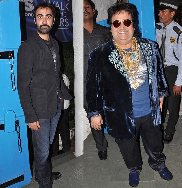 Ranvir Shourie and Bappi Lahiri