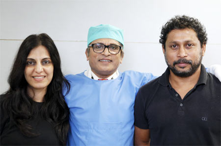Juhi Chaturvedi with Annu Kapoor and Shoojit Sircar